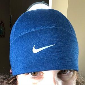 Nike running beanie blue NWOT